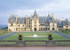 Biltmore Estate, Ashville, NC.  Yes there are castles in the US.  This spectular Vanderbilt home is well worth the visit.  The castle, rooms, gardens and even the converted dairy barn, now the winery are memorable.