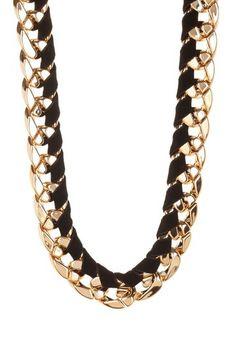 Velvet Chain Necklace on HauteLook
