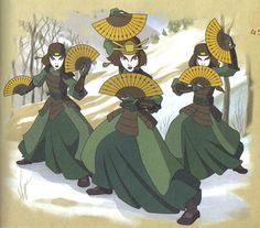 I really want to do a group cosplay as the Kyoshi Warriors! The armor would be a pain..as would the makeup, but I have seen some really good groups, so I can't lose hope!!