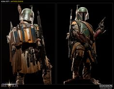 Star Wars Boba Fett - Mythos Polystone Statue by Sideshow Co | Sideshow Collectibles