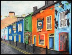 Dingle, Ireland can't wait to visit Dingle and Sligo I love the way they decorate their store fronts and homes!