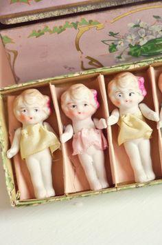 Vintage Bisque Dolls...via SweetEyeCandyCreations Jennifer Hayslip.:)