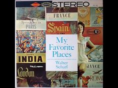 """Walter Scharf """"My Favorite Places"""" 1958 STEREO Space Age Pop FULL ALBUM"""