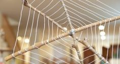 Wire and stick sider webs