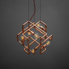 """""""Mandalo ceiling lamp - good ancient vibrations in a form of a big, almost levitating cube"""""""