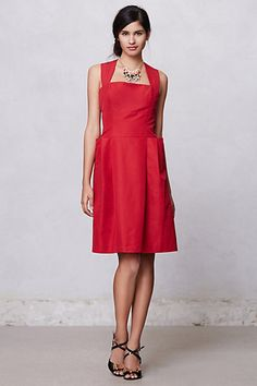 Real Need a Little Blck Dress...This Comes in Black..Absolutely LOVE!!!!Hanna Racerback Dress  #anthropologie.... :)