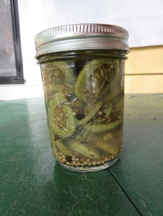 Mystery Lovers' Kitchen: Pickled Ferns