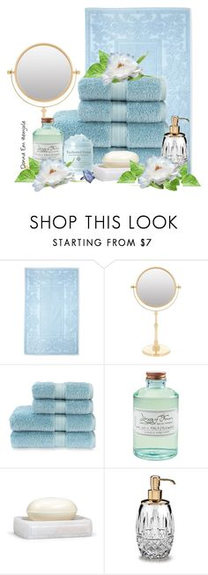 """""""Time to Relax"""" by emjule ❤ liked on Polyvore featuring beauty, Espalma, Zodiac, Christy, Panda, Library of Flowers, Labrazel and Frontgate"""
