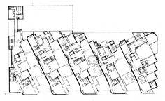 Edificio Girasol | José Antonio Coderch, arquitecto | http://www.plataformaarquitectura.cl/2012/10/02/clasicos-de-arquitectura-edificio-girasol-jose-antonio-coderch/planta-133/#