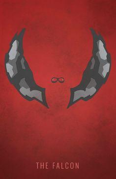 The Falcon Poster Captain America Winter Soldier