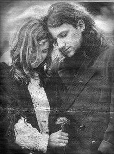 Bono and his wife Ali