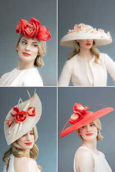 Couture Collection from Joanne Edwards Millinery 2016- Hats and headpieces…