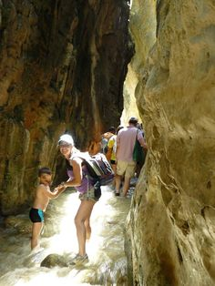 Fancy a holiday adventure? Do a river walk in Rio Chillar, Nerja! Bring suitable shoes!