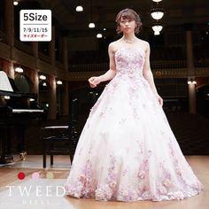 6ff9dc5a42a49 演奏会用ドレス ロングドレス 演奏会 ピアノ全3色 ピンク カラードレス
