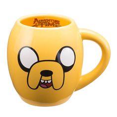 Adventure Time with Finn and Jake 18 oz. Oval Ceramic Mug - Vandor - Adventure Time - Mugs at Entertainment Earth