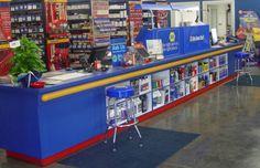 napa auto parts store inside