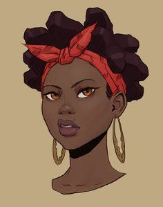 "Freemechanism: ""bb "" black art black women art, art и black Black Love Art, Black Girl Art, Art Girl, Afrique Art, Black Girl Cartoon, Black Anime Characters, Natural Hair Art, Black Art Pictures, Black Artwork"