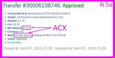 I work online from home and I manage to cover my low salary income. Online income is possible with ACX, who is definitely  paying.ACX Means Business! Do you know why ACX is the  Best of the Best in online money-making programs?  I am getting paid daily at ACX and here is proof of my  latest withdrawal. This is not a scam and I love making money  online with Ad Click Xpress.AdClickXpress (ACX) is the  best ONLINE OPPORTUNITY for you. http://www.adclickxpress...