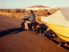Pull Behind Motorcycle Trailer 18