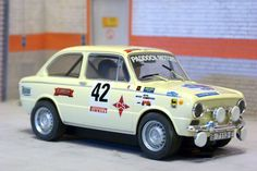 Scalextric Tecnitoys 63970. Seat 850.  III Rally del Ripolles 1981. Zanini Racing Team. #slotcar