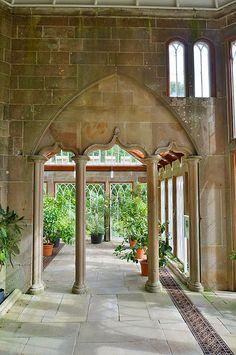 amazing Gothic Camellia house interior Culzean Castle