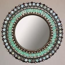 Moroccan mirror- Beautiful colors! More