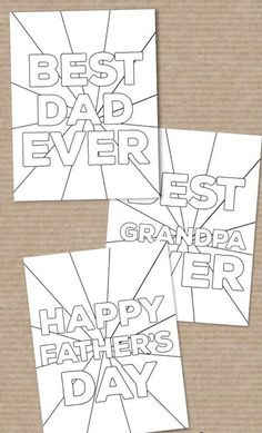 Diy Gifts For Kids, Gifts For Family, Diy For Kids, Fathers Day Crafts, Happy Fathers Day, Sos Cookies, Fathers Day Coloring Page, Cute Teacher Gifts, Father's Day Diy