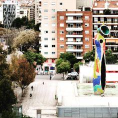 Dona i Ocell (Joan Miró) - Parc Joan Miró  #Barcelona #Miró