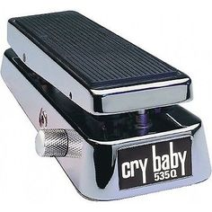 Dunlop Cry Baby C Chrome Wah Guitar Effect Pedal Brand New Jimi Hendrix Guitar Rig, Guitar Shop, Cool Guitar, Guitar Effects Pedals, Guitar Pedals, Cry Baby 535q, 9 Volt Battery, Ideas, Instruments