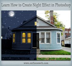 Learn How to Create A Night Effect in Photoshop
