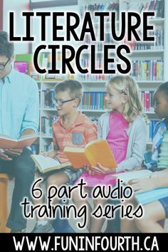 Join this free 6 part audio training and discover how to fully engage your students in their reading through differentiation, student voice, and clear student roles.  #literaturecircles #languagearts #readingintheclassroom