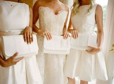 This Couple's Multiday Wedding in the Hamptons and in France Will Blow You Away Double Wedding, Wedding Day, Hamptons New York, White Purses, Short Dresses, Formal Dresses, Bridesmaid Dresses, Wedding Dresses, Party Dress