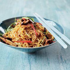 Stir-Fried Noodles with Roast Pork Recipe  - Grace Parisi | Food & Wine