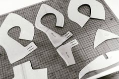 Patterns #uppers #lining #stiffeners #workinprogress  #bespoke #handmade #handmadeshoes #shoedesigner #shoemaker #winterrabbit #pumps #heels
