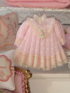 Dollhouse pink dress