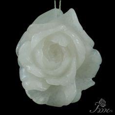 Hand carved Pendant Flower Pendant Peony Pendant Clothes Pendant F10209 #PDN #Pendant