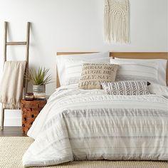 King Duvet Cover Sets, Bed Duvet Covers, Comforter Sets, Boho Duvet Cover, Ivory Duvet Cover, King Size Bedding Sets, Beige Comforter, Neutral Bedding, Cotton Bedding