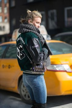 Bomber jackets are perfect for all-around winter wear.