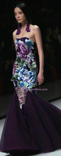 China Fashion Week - Zhang Zhifen - NE Tiger