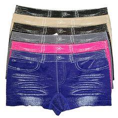 HS Women Seamless Underwear Boyshort Jean Design (size ONE SIZE) 6 Colors by Bonita HS. $13.99. New Products || Great Design || Spandex || Products Size: One Size || Colors: BLACK,ROYAL,GREY,CHOCOLATE,FUCHSIA,BEIGE. || Seamless Boyshort with JEAN'S Design || Made In China