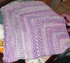 Granny Square Blanket, Crochet, Knit Crochet, Crocheting, Chrochet, Hooks, Ganchillo