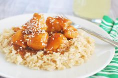 Sesame Chicken - better than takeout! And so easy!