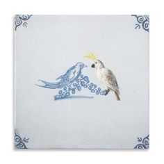 The Show-off #tile is part of the Rijksmuseum Collection under thename'A Golden Age Encounter'.This series is a collaboration between #StoryTiles and the Rijksmuseum in the Netherlands. For this collection, Marga van Oers focused on finding known and unknown animals in the Rijksmuseum and united them with Old Dutch stories.  #Art #HomeDeco