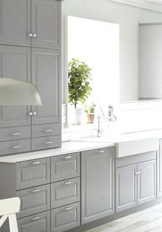 Kitchen ikea bodbyn sinks 66 New ideas White Kitchen Cabinets Bodbyn Ideas IKEA Kitchen Sinks Home Kitchens, Cabinet Design, Kitchen Design, Kitchen Cabinet Design, Kitchen Renovation, New Kitchen Cabinets, Gray And White Kitchen, Grey Kitchens, Kitchen Style