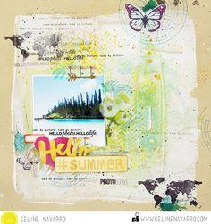 Une page Hello Summer — Celine Navarro
