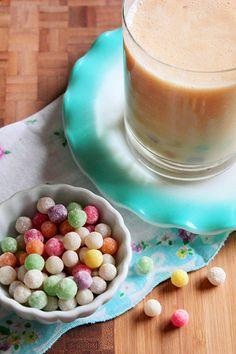 Honey Peach Bubble Tea