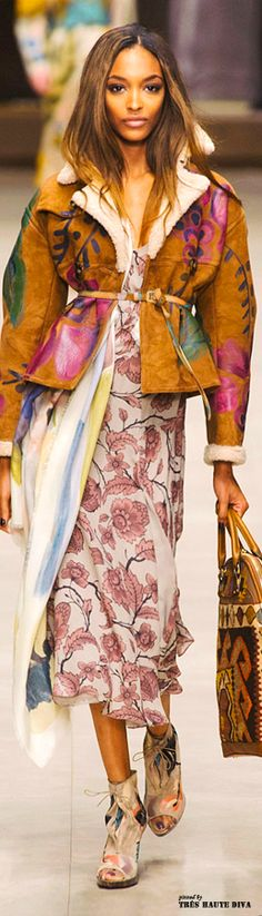 #London Fashion Week Burberry Prorsum Fall 2014 RTW