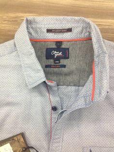 Men shirt detailing..dobby shirts
