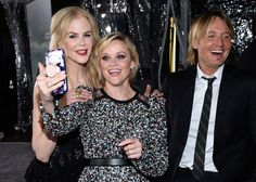 "Keith Urban Photos Photos - (L-R) Actors Nicole Kidman, Reese Witherspoon, and musician Keith Urban attend the premiere of HBO's ""Big Little Lies"" at TCL Chinese Theatre on February 7, 2017 in Hollywood, California. - Premiere of HBO's 'Big Little Lies' - Red Carpet"