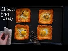foodiesofsa | Cheesy Egg Toasty